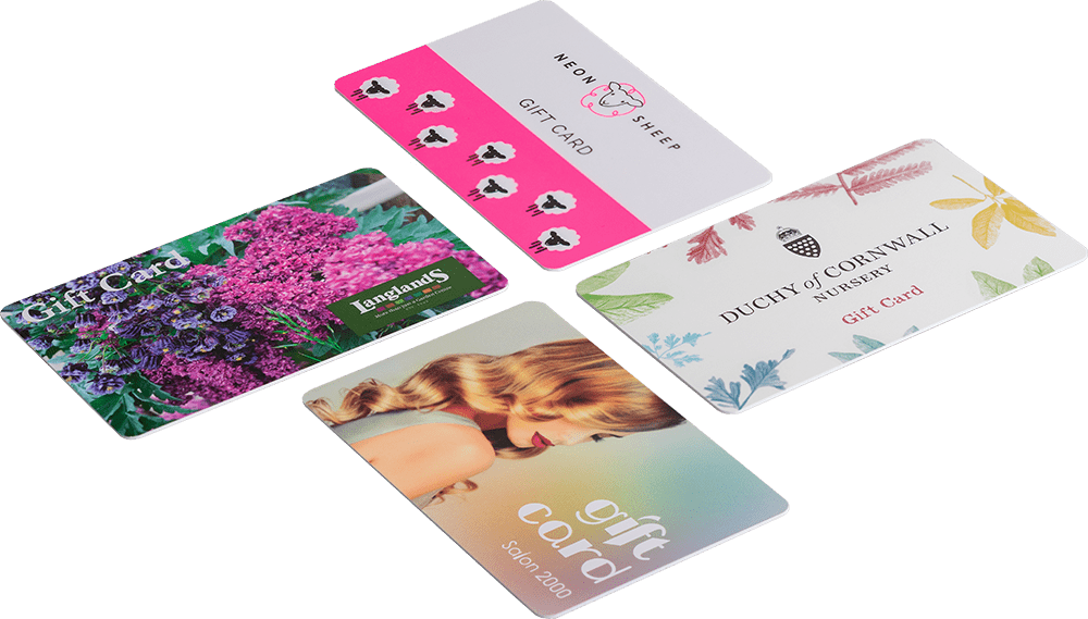 What is the difference between a Matt and Gloss Card?